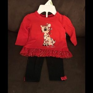 NWT Infant Christmas Outfit